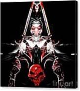 Mythology And Skulls Canvas Print