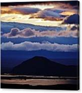 Myvatn Sunset Canvas Print