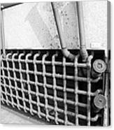 N Y C Grates In Black And White Canvas Print