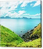 Nacpan Beach Hills Canvas Print