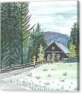 Naggl Alm Canvas Print