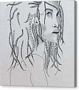 Naia The First American Canvas Print
