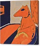 Naked Canvas Print