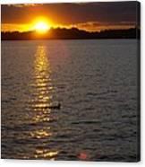 Namakagon Sunset Canvas Print