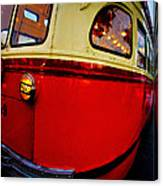 San Francisco Streetcar Canvas Print