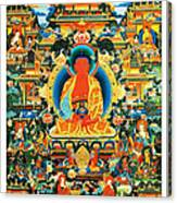 Namo Amitabha Buddha 24 Canvas Print