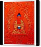Namo Amitabha Buddha 7 Canvas Print