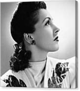 Nancy Kelly, Universal Portrait By Ray Canvas Print