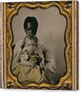 Nanny And Child, C1855 Canvas Print