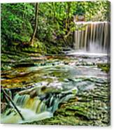 Nant Mill Waterfall Canvas Print