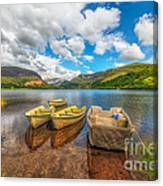 Nantlle Lake Canvas Print
