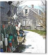 Nantucket Buoys Canvas Print