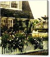 Nantucket Cottage Canvas Print