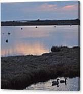 Nantucket Sunset Canvas Print