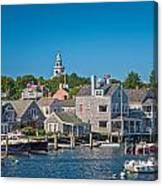 Nantucket Town Canvas Print