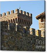 Napa Valley Castle Winery Canvas Print