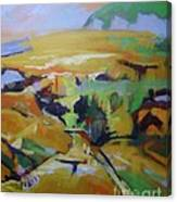 Napa Valley Perriwinkle Sky Canvas Print