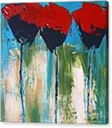 Napa Valley Red Poppys Canvas Print