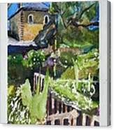 Napa Valley Winery In June Canvas Print
