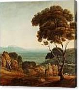 Naples And Capri  Canvas Print