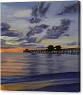 Naples Pier Naples Florida Canvas Print