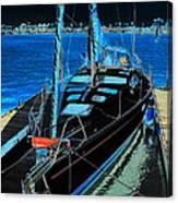 Naples Yacht Canvas Print