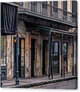Napoleon House In French Quarter Canvas Print