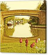 Napton Junction Canvas Print
