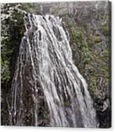 Narada Falls Mt Rainier Canvas Print