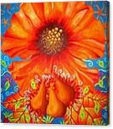 Naranj Canvas Print