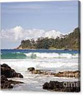 Narrawallee Beach On The South Coast Of New South Wales Australia Canvas Print