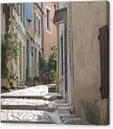 Narrow Lane - Arles Canvas Print