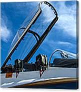Nasa F-18 Canvas Print