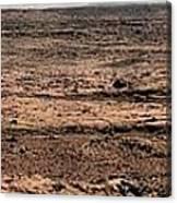 Nasa Mars Panorama From The Mars Rover Canvas Print