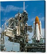 Nasa Space Shuttle Canvas Print
