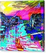Nasdaq Where Canvas Print
