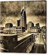 Nashville Grunge Canvas Print