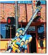 Nashville Legends Guitar Canvas Print