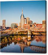 Nashville Morning Canvas Print