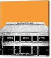 Nashville Skyline Grand Ole Opry - Orange Canvas Print