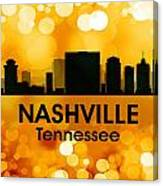 Nashville Tn 3 Canvas Print