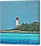 Nassau Bahama Lighthouse Canvas Print