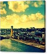 Nassau The Bahamas Canvas Print