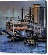 Natches Riverboat Canvas Print
