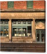National Bank Of Thurmond Canvas Print