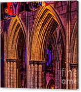 National Cathedral Arches Canvas Print