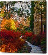 National Cathedral Path Canvas Print