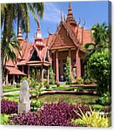 National Museum In Phnom Penh Canvas Print