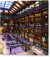 National Museum Of Natural History - Paris France - 011370 Canvas Print