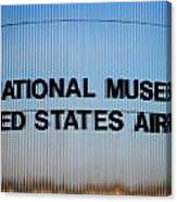National Museum United States Air Force Canvas Print